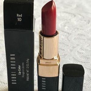 Bobbi Brown lipstick (shade: red 10)